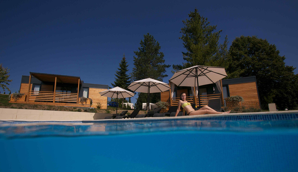 pool season at Plitvice Holiday Resort