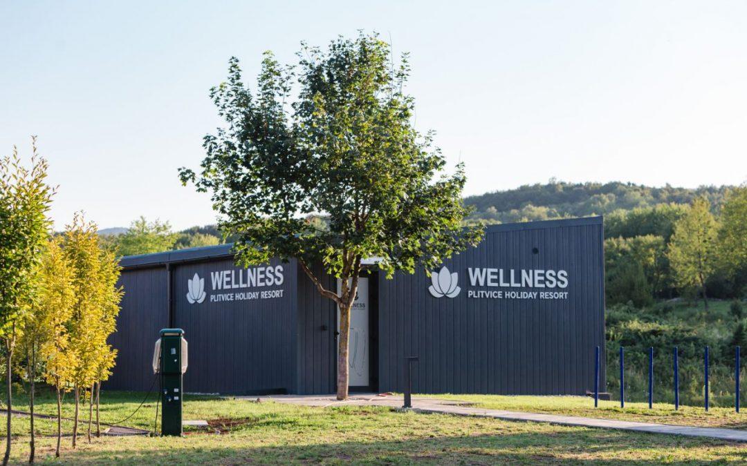 Wellnesszentrum im Plitvice Holiday Resort